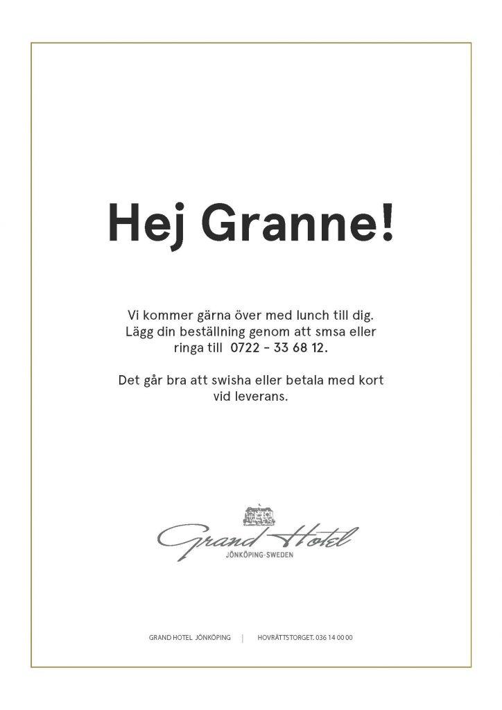 Hej Granne